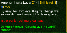 naruto castle defense 6.6 Zatsu Amenominaka.Lava detail
