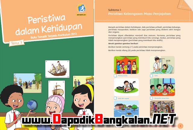 Buku Siswa Kelas 5 Tema 7 Peristiwa dalam Kehidupan