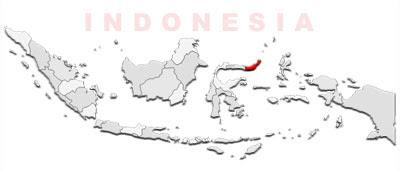 image: North Sulawesi map location