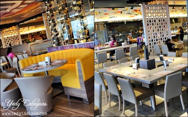 Tables and Chairs are also Artistically Decorated at Vikings Buffet SM Megamall
