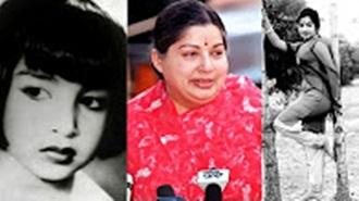 Nostalgic Trip – CM Jayalalithaa's childhood and acting career