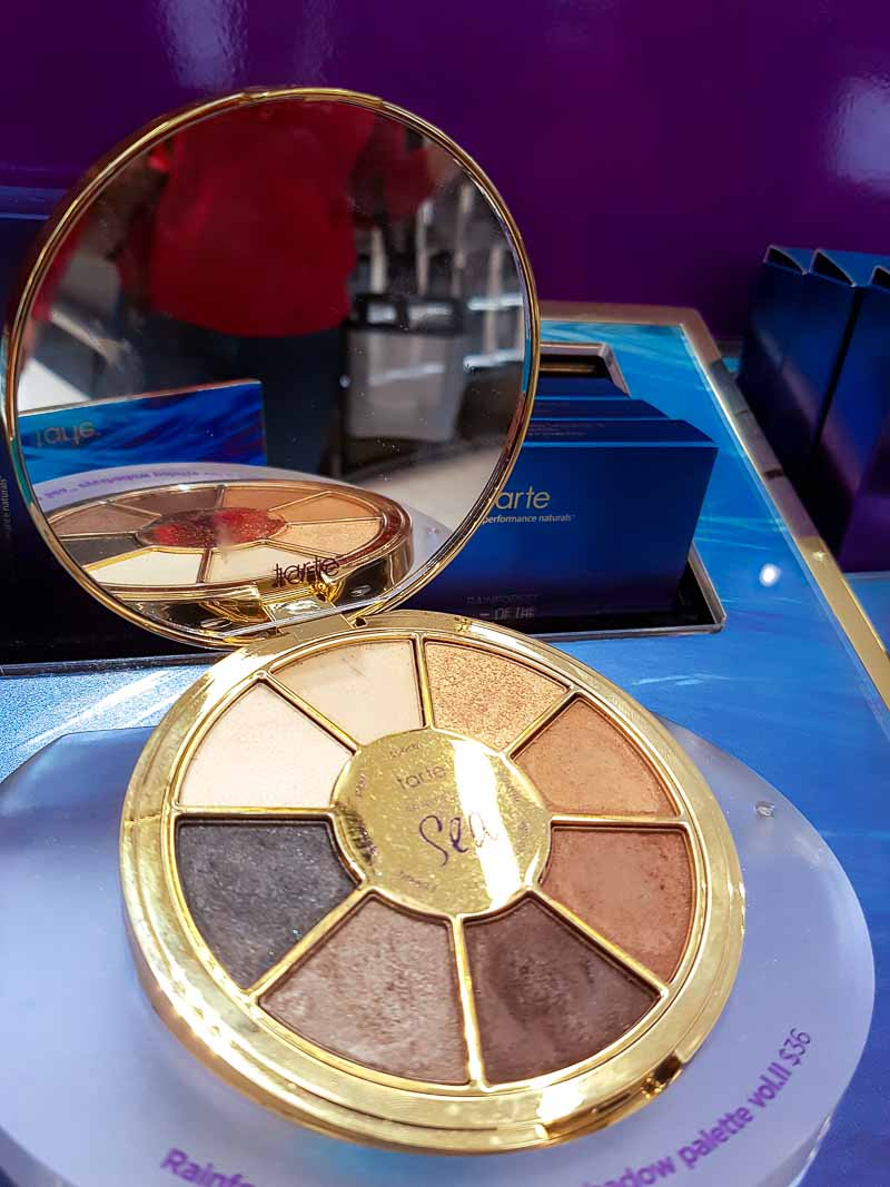Tarte Rainforest of the Sea Eyeshadow Palette Volume II - Swatches