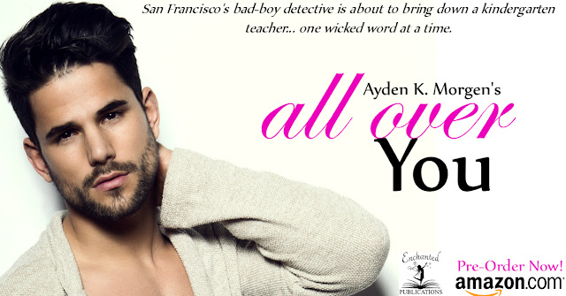 Cover Reveal: All Over You by Ayden K Morgen 5