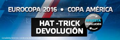 suertia reembolso 50 euros partido Eurocopa y Copa America 2016