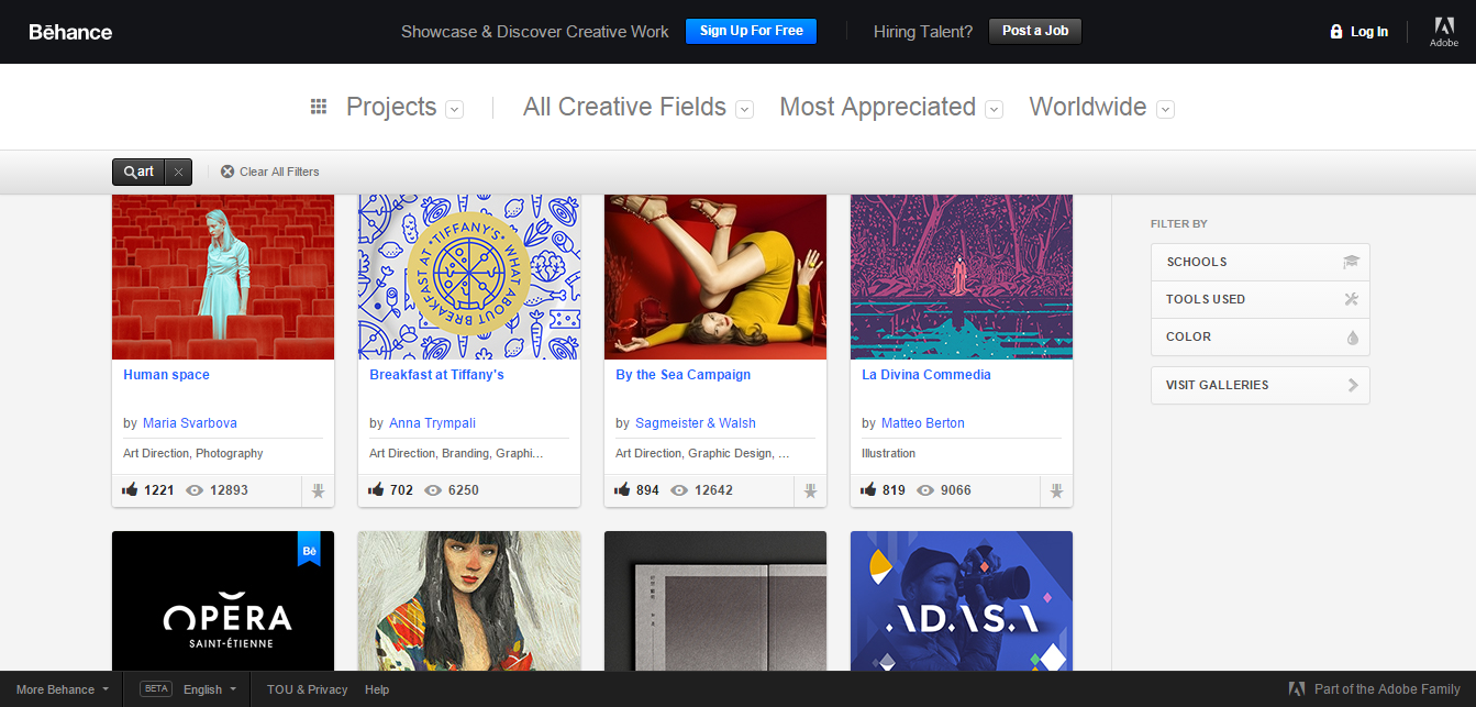 design, creative, visualartzi, behance portfolio, how to promote your art work