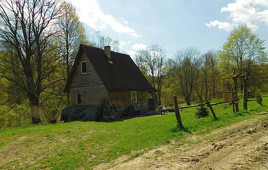 Chata w Przybyszowie.