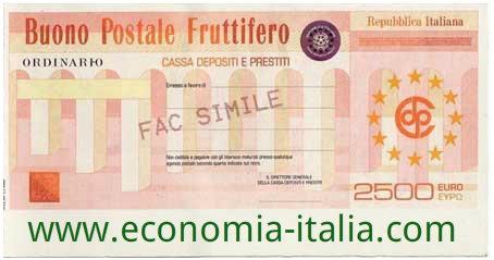 Buoni Fruttiferi Postali sono affidabili o a rischio Bail In?