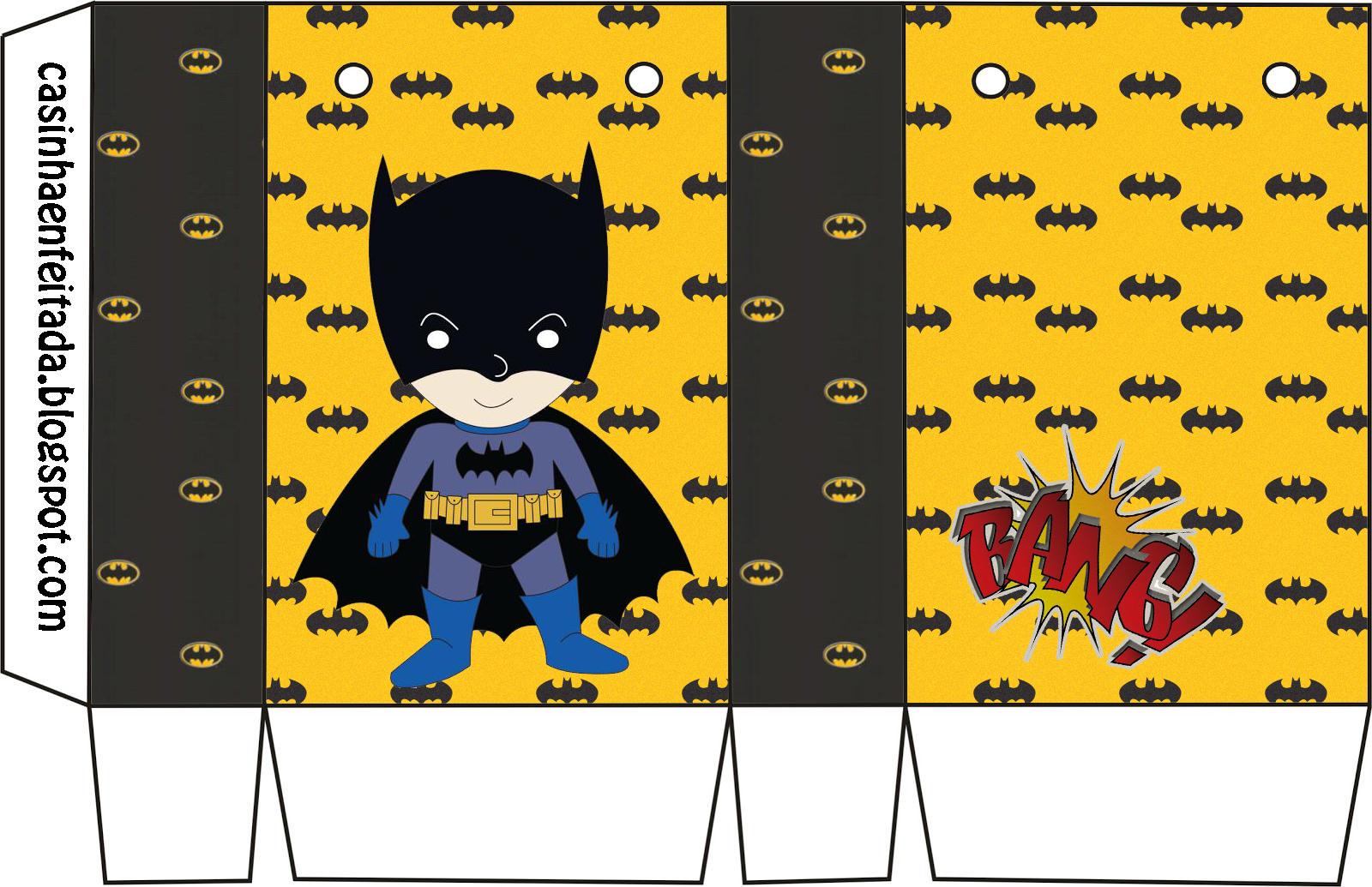 Casinha De Crianca Kit Festa Batman Para Imprimir Gratis