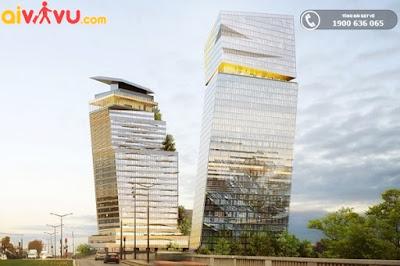 Hai toà tháp đôi DUO cùng khoe dáng giữa trời Pháp