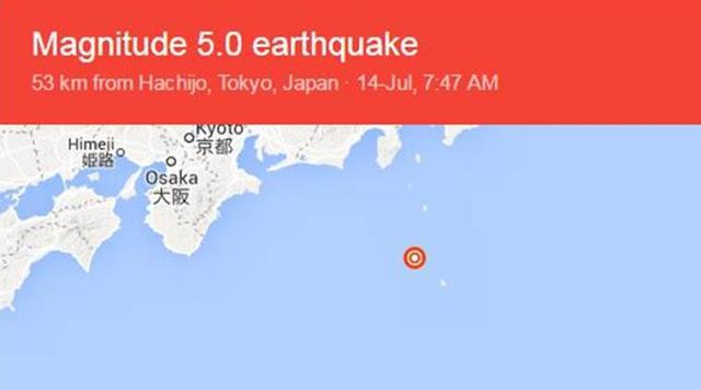 Quake Jolts Tokyo Region