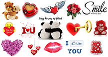 New Love Emoticons for Facebook