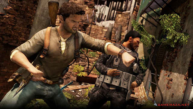 Uncharted 2 Among Thieves Gameplay Screenshot 3