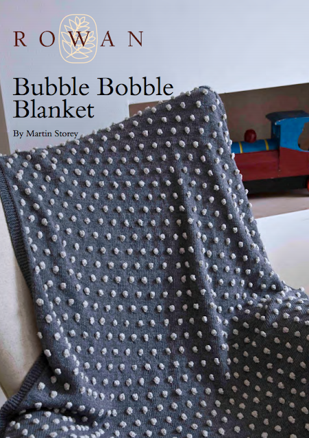 The Vintage Pattern Files: Free 1950's Knitting Pattern - Bobble Blanket