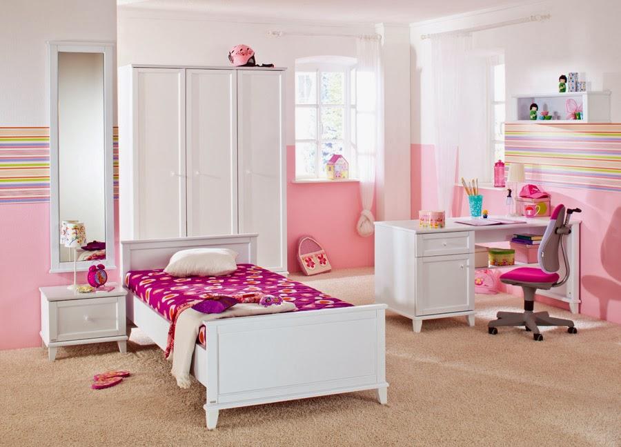 Dormitorios para adolescentes color rosa dormitorios - Diseno de habitacion juvenil ...