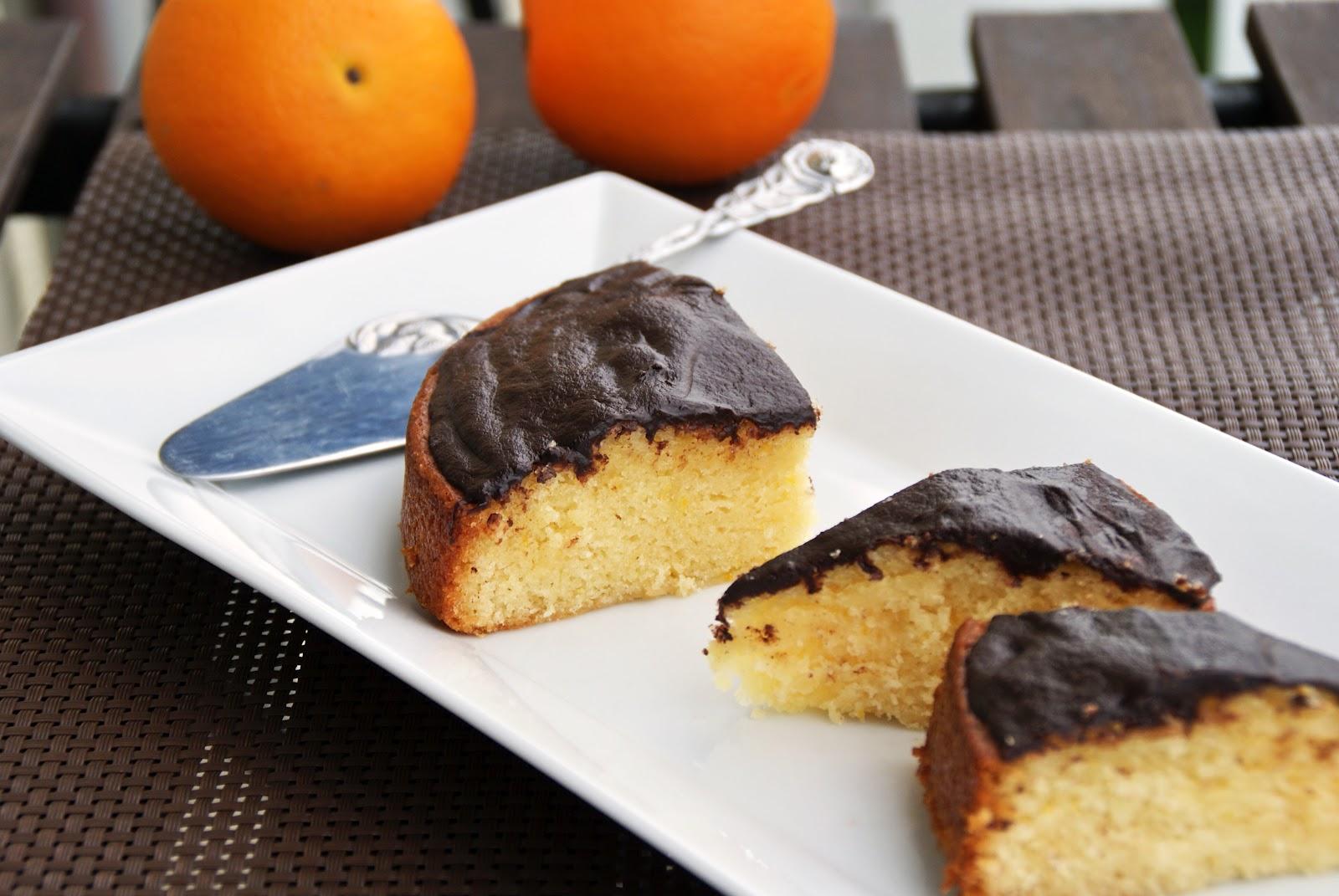 Totally Veg Soft Cake Kuchen Orangenkuchen Mit Schokoguss