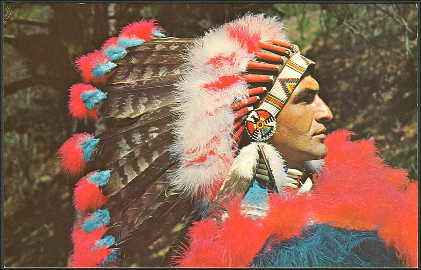 American Indian S History And Photographs Iroquois And