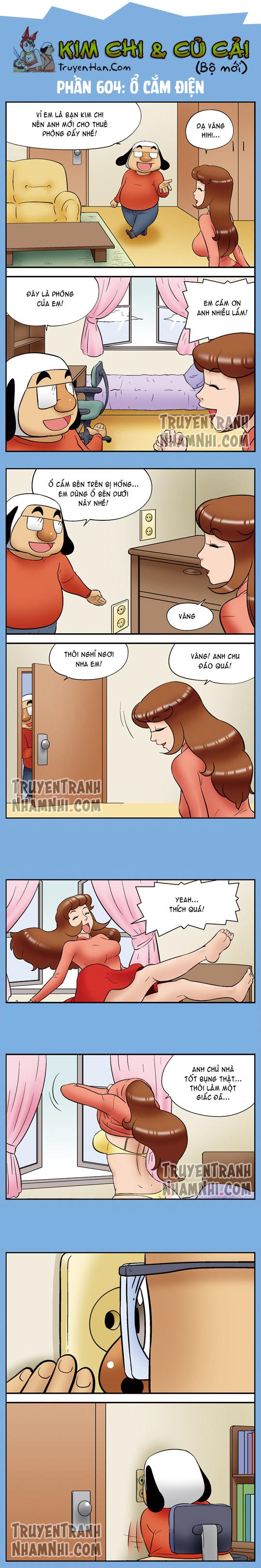 Kim Chi Và Củ Cải Phần 604: Ổ cắm điện