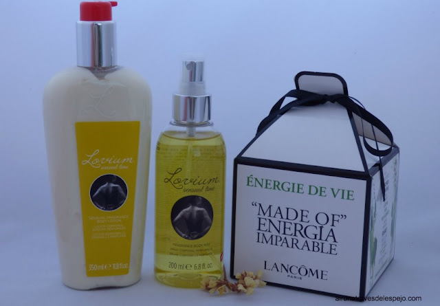lovium lancome aromas perfumeria