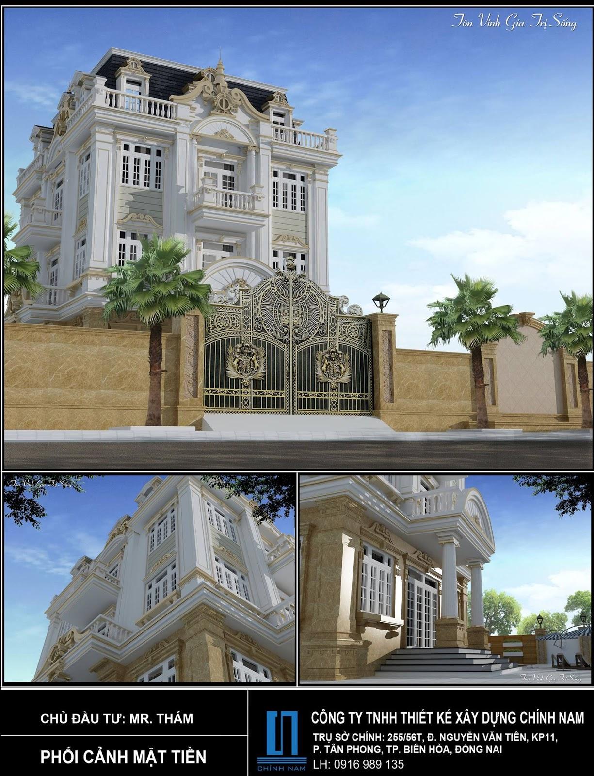 xây dựng nhà đẹp ở Đồng Nai