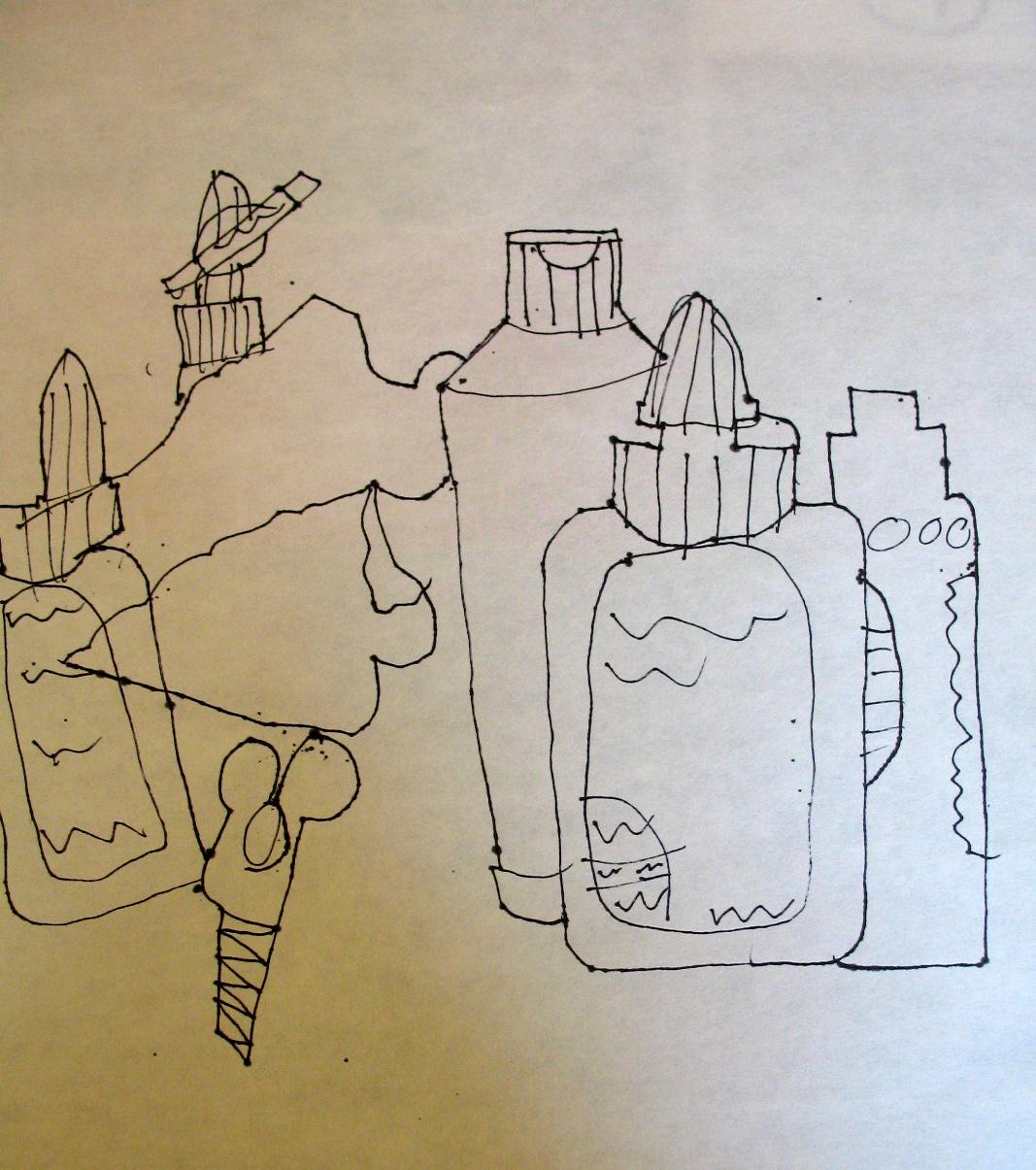 Adventures Of An Artist Teacher Contour Line Drawing