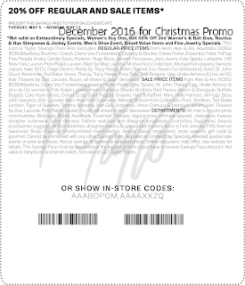 free Lord & Taylor coupons for december 2016