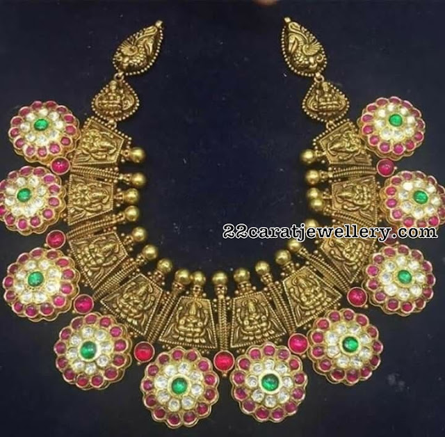 Lakshmi Peacock Trendy Kundan Chokers
