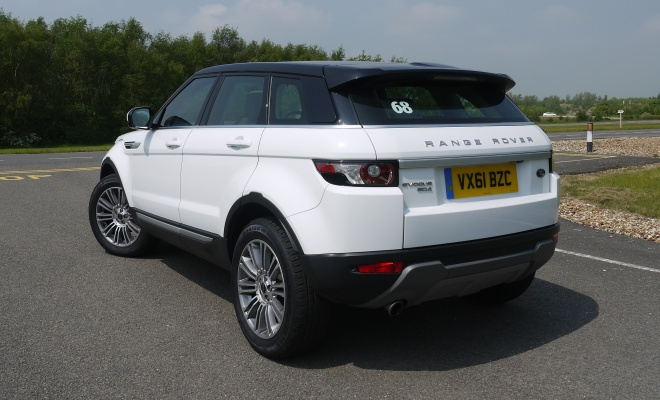 Range Rover Evoque eD4 rear view