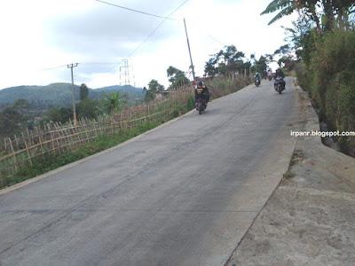 Kamojang, jalan alternatif Bandung - Garut