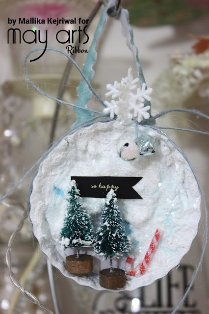 Christmas Crafting with ribbon - May Arts Post
