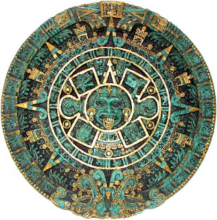 Aztec ancient calendar