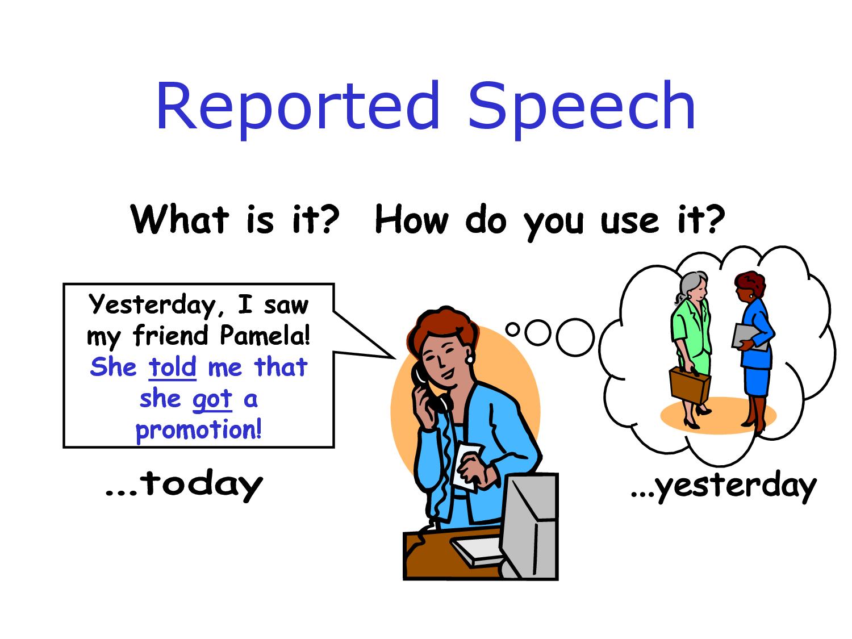 Kalimat Tak Langsung Bahasa Inggris Indirect Speech
