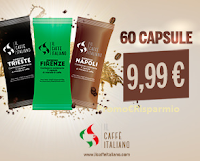 Logo Sconti pazzeschi Il Caffè Italiano : compatibile Nespresso da euro 0,17