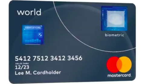 Carte biométrique Mastercard