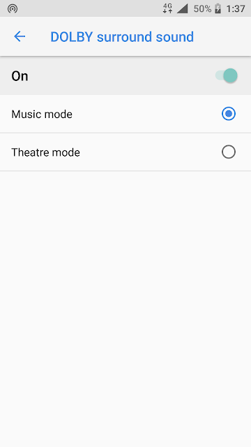 `Dolby Surround Sound on Nokia 6