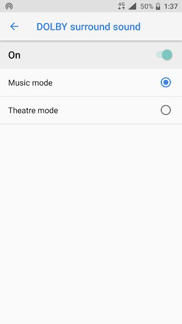 `Dolby Surround Sound on Nokia 6