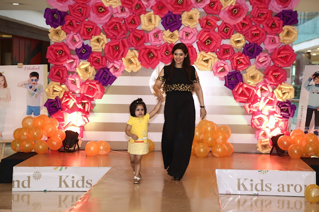 Kids Fashion Show at the launch of Kids Around India