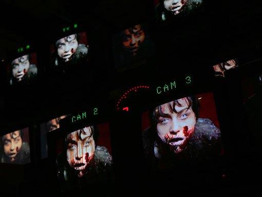 Los zombies a través de las pantallas de Dead Set