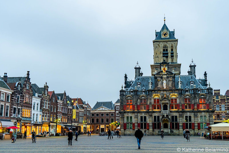 Delft City Hall Netherlands Day Trips from Amsterdam or Rotterdam