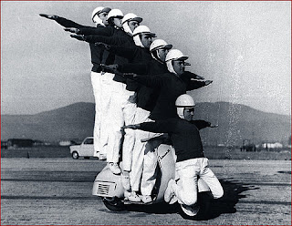 Motor Fresstyle anggota polisi