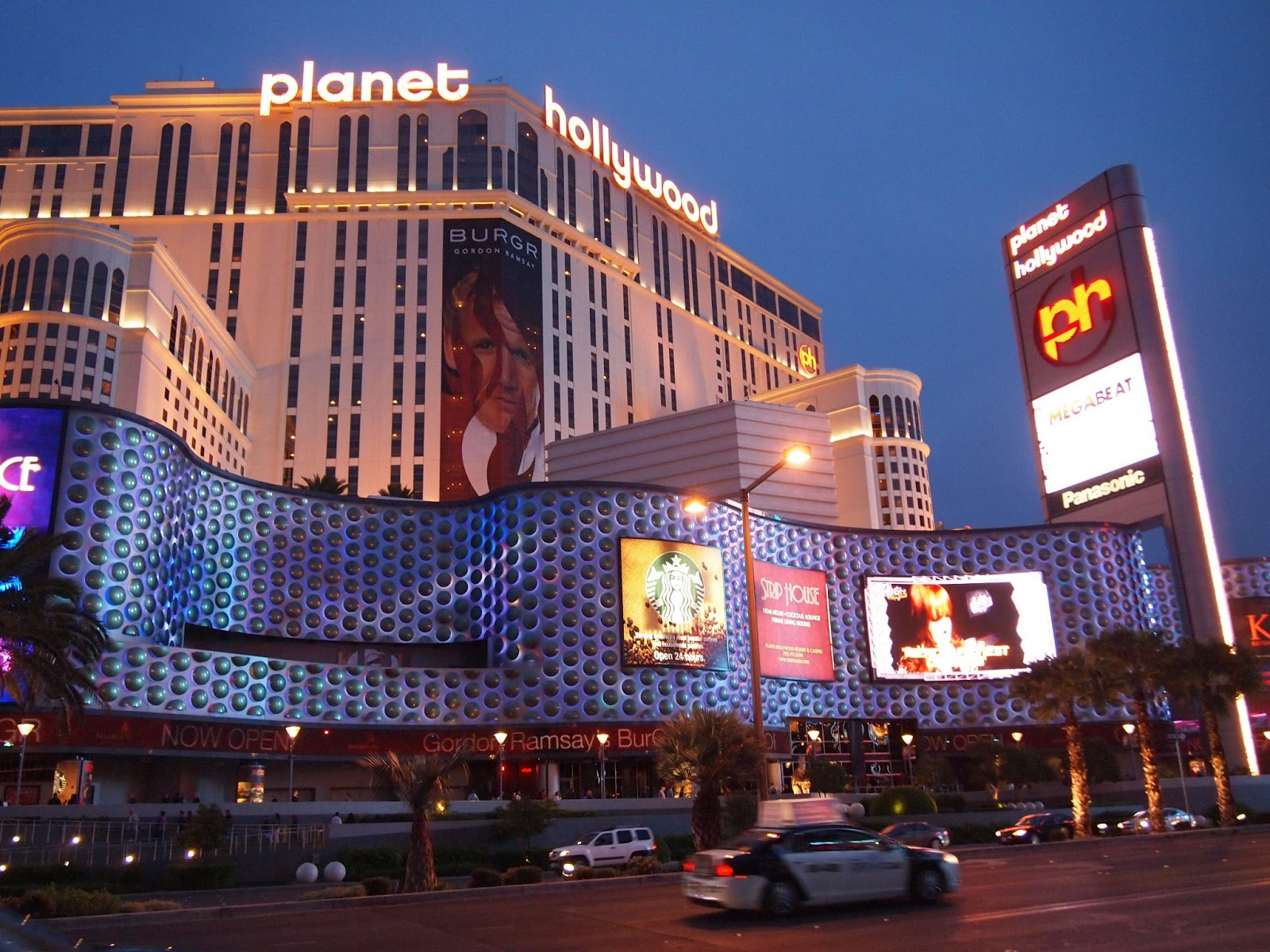 Where is FatBoy  Las Vegas  Planet Hollywood Hotel