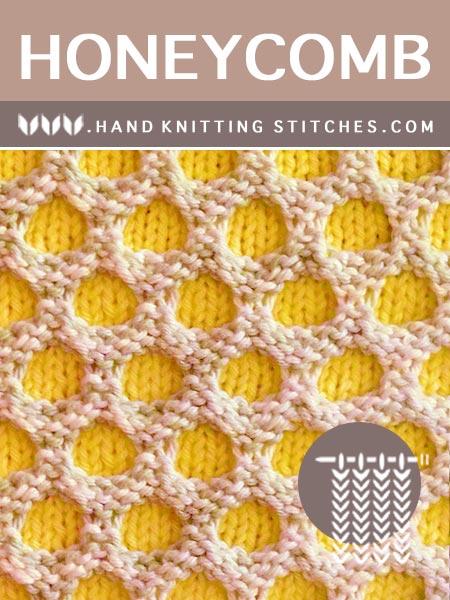 The Art of Slip stitch Knitting - Honeycomb Pattern. FREE!!