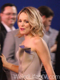 Rachel McAdams arrives at the Doctor Strange premiere in Hollywood.