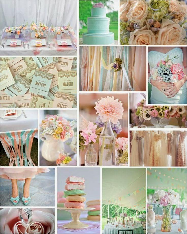 decoration mariage pastel