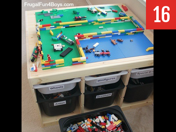 Lego table of your kids' dreams