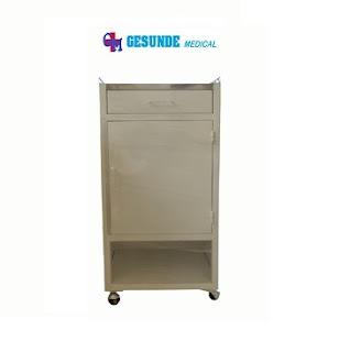 Bedside Cabinet Steel Nakas Atas Stainless Steel
