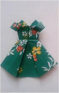 Origami Baju anak 4