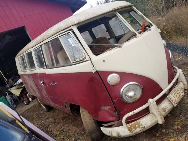 1964 VW Microbus Minnesota