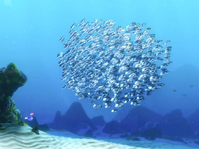 Animated Wallpaper Fish Aquarium Moonfish Finding Nemo 17453 Trendnet