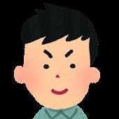 男性の顔アイコン 1
