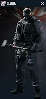 Portrait of Sledge - Rainbow Six Siege Operator